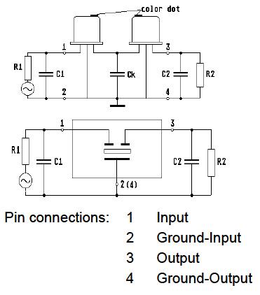 以开发、制造、技术支持;为使用者订制不同规格、技术要求的石英晶体滤波器元件