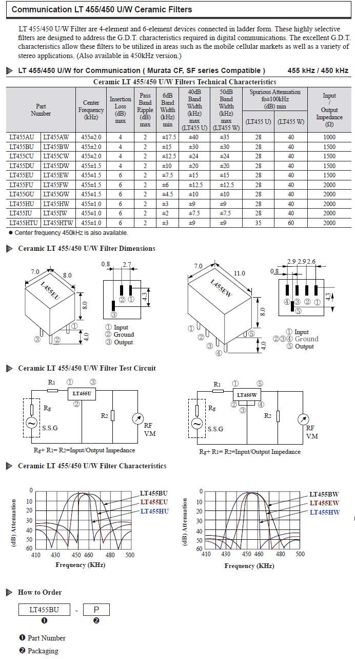 压电陶瓷滤波器 piezo- 产品中心 - 鹏飞电子